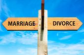 Marriage versus Divorce messages