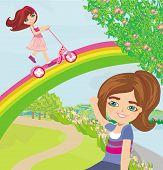 Fun On A Rainbow