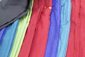 A Lot Of Colorful Trousers