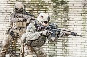 picture of army  - United States Army rangers during the military operation - JPG