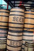Old Beer Barrels