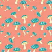 Mushrooms Pattern