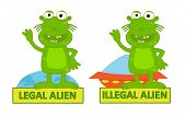 Legal Illegal Alien
