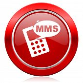 mms icon phone sign