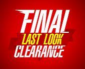 Final clearance sale design, last look.