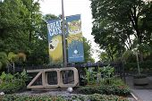 The Entrance To The Smithsonian National Zoological Park