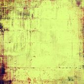 Aged grunge texture. With different color patterns: purple (violet); yellow (beige); brown