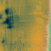 Old Texture or Background. With different color patterns: yellow (beige); brown; blue; cyan
