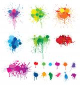 Colorful Splats.