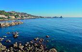 Cliff Of Acireale, Catania, Italy