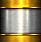 image of titanium  - Metal plate texture polished metal background - JPG