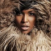 Woman Into The Fur