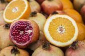 Pomegranate & Orange