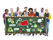 Diversity Casual People Branding Vision Teamwork Support Concept