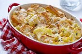 Casserole with cauliflower