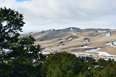 Great Sand Dunes National Park, Colorado In Winter