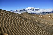 Great Sand Dunes National Park, Colorado During Winter