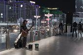 Homeless Man In Las Vegas
