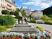 J. W. Goethe Statue, Spa Marianske Lazne, Czech Republic