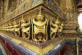 Garuda in the temple