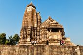 picture of khajuraho  - Vamana Temple - JPG