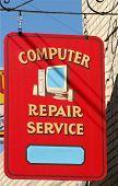Computer Sign