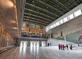 foto of nobel peace prize  - Osla City Hall in central Oslo Norway - JPG