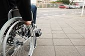 stock photo of disability  - Close - JPG