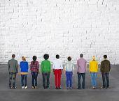 foto of diversity  - Diverse Diversity Ethnic Ethnicity Unity Variation Concept - JPG