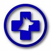 stock photo of veterinary  - Veterinary icon - JPG