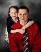 Daughter Hugging Her Daddy