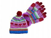 Heart Hat And Gloves