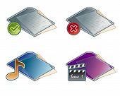 Design Elements 45A. Folders Icon Set