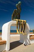 Malecon Statue