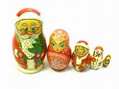 Holiday Nesting Dolls