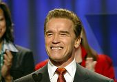 LONG BEACH - DEC 7: Arnold Schwarzenegger at the California Governor's Conference on Women and Famil