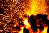 Sparking Coals