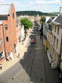 Winchester High Street From A High Viewpoint