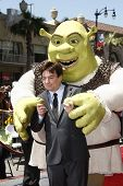 LOS ANGELES - MAY 20: Mike Myers at the ceremony where Shrek receives a star on the Hollywood Walk of Fame in Los Angeles, California on May 20, 2010
