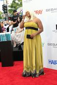 LOS ANGELES - JUL 10: Queen Latifah at the premiere of 'Hairspray' at the Mann Village Theater in We