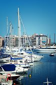 stock photo of piraeus  - Luxury vessel in Piraeus Marina - JPG