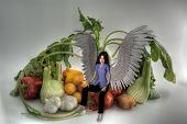 Vegetable And Angel Hdri.