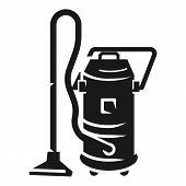 Service Vacuum Cleaner Icon. Simple Illustration Of Service Vacuum Cleaner Vector Icon For Web Desig poster