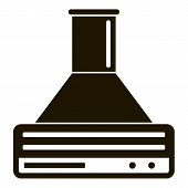 Smart Air Cooker Icon. Simple Illustration Of Smart Air Cooker Vector Icon For Web Design Isolated O poster