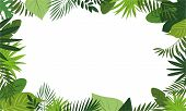 Fresh Rainforest Concept Banner. Cartoon Illustration Of Fresh Rainforest Vector Concept Banner For  poster