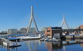 Boston Harbour In Sunny Ambiance
