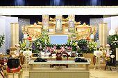 Escena del funeral