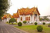 Beautiful Thai Temple Wat Benjamaborphit