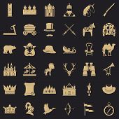 Pony Icons Set. Simple Style Of 36 Pony Icons For Web For Any Design poster