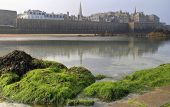 St Malo From The Beach